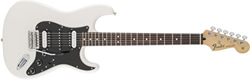 Fender Standard Stratocaster Electric Guitar - HSH - Rosewood Fingerboard, Olympic White (Fender Blacktop Stratocaster Hh compare prices)