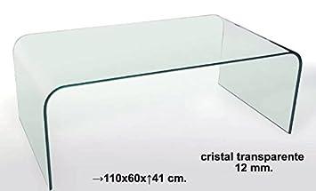 DonRegaloWeb Glastisch eine Stuck 12mm Dicke Decked in transparent