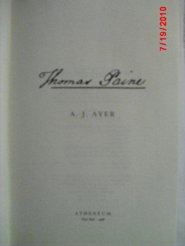 Thomas Paine, Ayer, A. J.