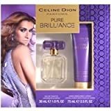 Pure Brilliance by Celine Dion 30ml Eau de Toilette Spray & 75ml Body Lotion