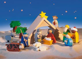 HABA Nativity Scene And Figures