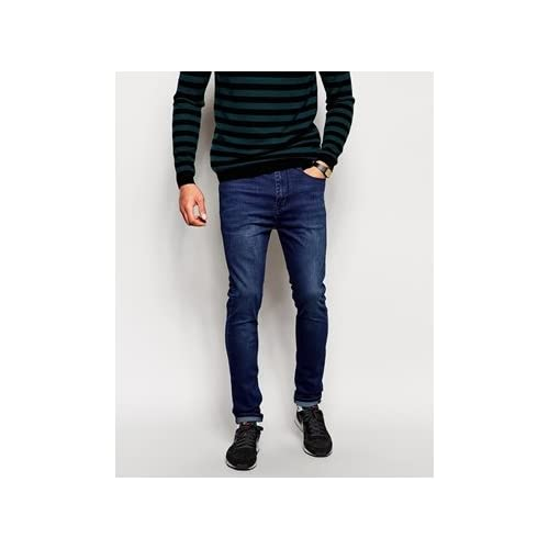 Dr Denim Jeans Leon Drop Crotch Tapered Fit Night Shadow 並行輸入品