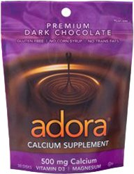 Adora Vitamins Calcium Disks, 30 Count