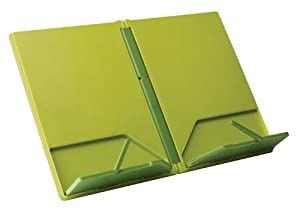Joseph Joseph CookBook Compact Folding Bookstand, Green and Dark Green