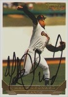 Mark Leonard San Francisco Giants 1993 Topps Gold Autographed Hand Signed Trading... by Hall of Fame Memorabilia