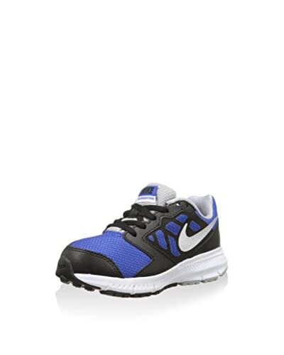 Nike Sneaker Downshifter 6 (Gs/Ps) [Nero/Blu]