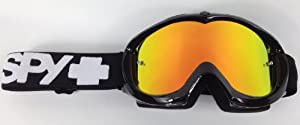 Goggle-Shop Chrome Mirror Lens to fit Spy Alloy / Targa 2 Motocross MX Goggles (Fire Mirror)