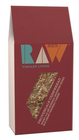 Raw Health Organic & Raw Provencal Crispbread with Buckwheat & Rosemary - 8x100g