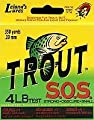 Trout S.O.S. Line Spool (4-Pound Test), 400-Yard from Leland Lures