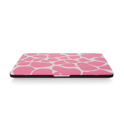 AYAMAYA MacBook shell cover Macbook Pro Retina 13.3インチ A1425 A1502 専用 サファリ柄ピンク 防塵・静電気防止 ハードケース と 1枚パームレスト保護シート と 1枚トラックパッドフィルム 1枚液晶保護フィルム 付属 個性的なデザインケース
