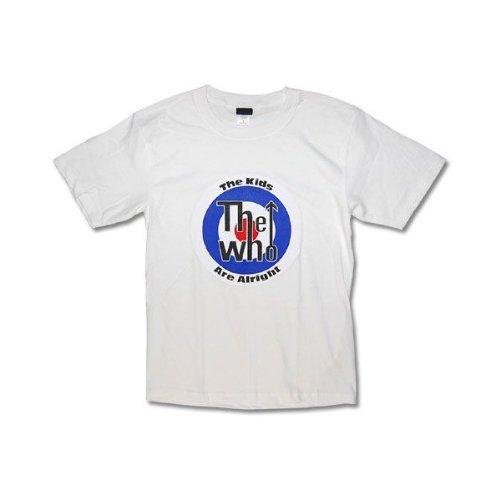 Tシャツ THE WHO ザ・フー ターゲット ロック バンド S ホワイト