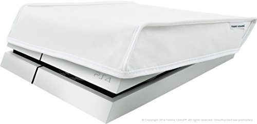 playstation-4-dust-cover-by-foamy-lizard-r-limited-edition-arctic-white-the-original-made-in-usa-tex