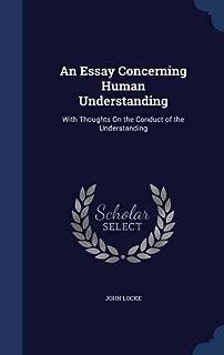 An Essay Concerning Human Understanding Book I: Innate