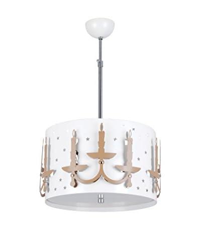 Light Up Lampada A Sospensione Horizon Marrone