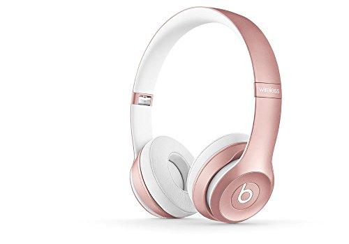 Solo2 Wireless HD Sound Bluetooth On-Ear Headphones Wireless Rose Gold