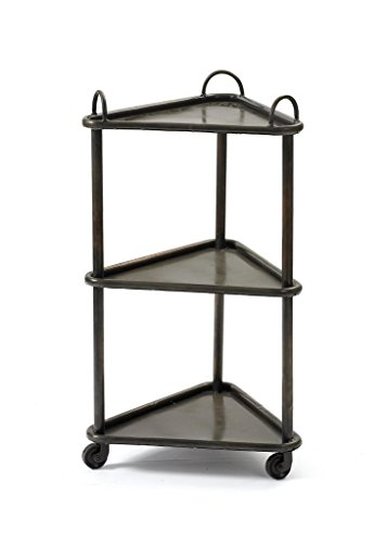 Country Side Table, Black Metal