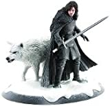 Jon Snow and Ghost Statue