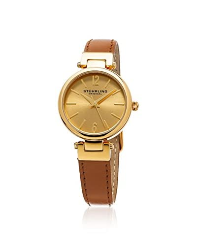 Stuhrling Original Women's 956.02 Symphony Analog Display Quartz Brown Watch