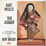 DER JASAGER - AN OPERA IN TWO ACTS - BASED ON AN ANCIENT JAPANESE NOH PLAY - vinyl lp.