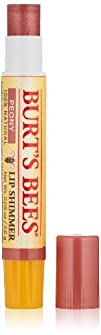 Burts Bees Lip Shimmer Peony 0.09 Ounce Tube