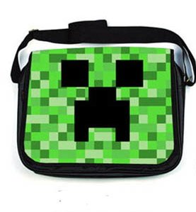 Minecraft Creeper Messenger Bag by MIC