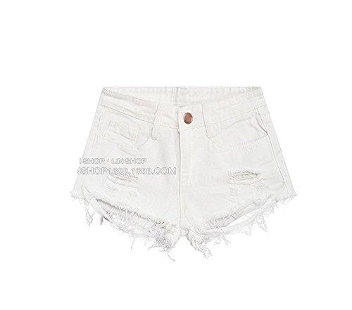 Batedan -  Jeans  - Donna Bianco Bianco