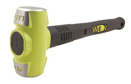 Wilton Sledge Hammer, 4 Lbs, 12 In, Rubber/Steel