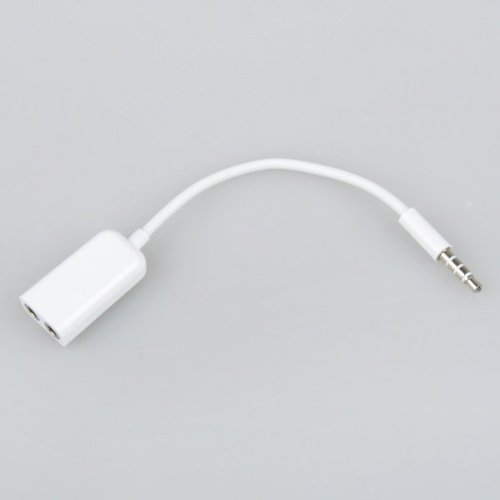 Bestdealusa 3.5Mm Audio Headphone Splitter Cable Adapter For Iphone