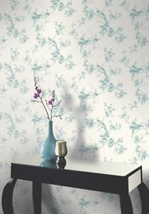 Arthouse Chinoise Wallpaper - Teal from New A-Brend