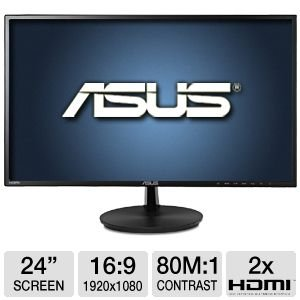 ASUS VN247H-P 24-Inch Screen LED-Lit Monitor