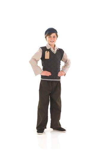 1940s World War 2 Evacuee Schoolboy Childs Fancy Dress - L 54inch Height (Schoolboy Fancy Dress)