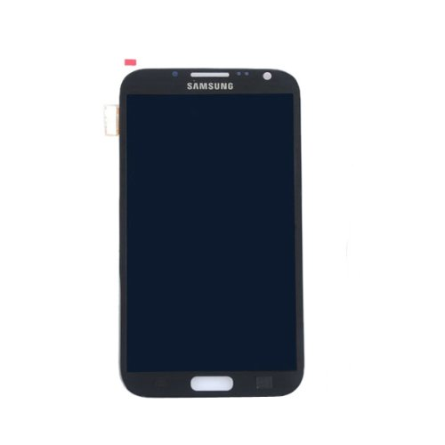 Full Set Lcd With Touch Pad Replacement Full Lcd & Touch Screen Digitizer Glass Assembly Compatible For Samsung Galaxy Note 2 N7100 - Grey (By Orange Hong Kong)