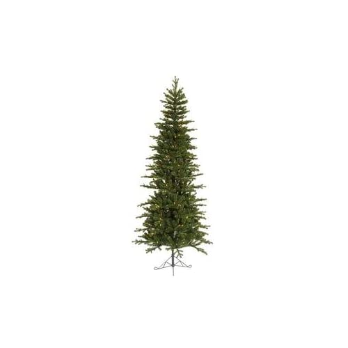 Jersey Frasier Fir 7 Artificial Pencil Christmas Tree with Multicolored Lights
