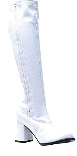 Boot Go Go White Size 9 (White Gogo Boots Cheap)