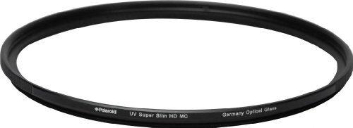 Polaroid Filtro UV Pro Series 58 mm Super Slim L39 MC con lente tedesca SCHOTT