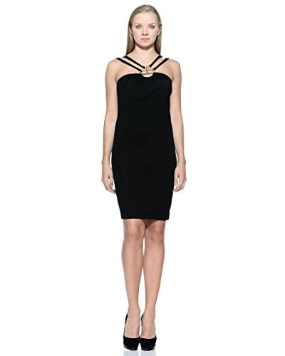 French Connection Vestido Jersey Negro