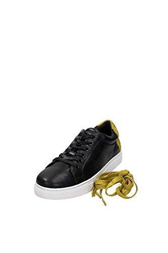 Lola Cruz 238Z10BK Sneaker Donna Pelle Nero Nero 37