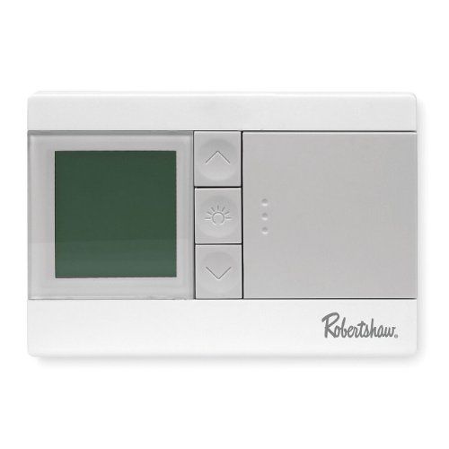 Robertshaw Rs3110 1 Heat/1 Cool Digital 5-2 Day Programmable Thermostat front-222828
