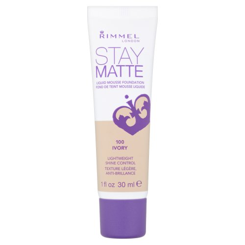 Rimmel Stay Matte, Fondotinta, Ivory