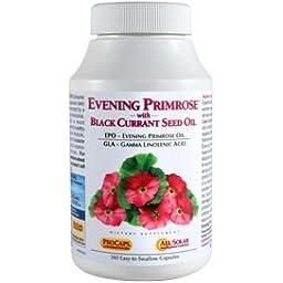Evening Primrose with Black Currant Seed Oil 360 Capsules