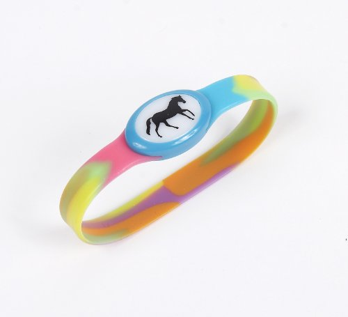 Stretchy Tye-Dye LED Bracelet