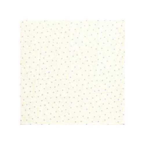 03549 Swiss Dot Light Blue - Flannel Fat Quarter supply:hemstitchers