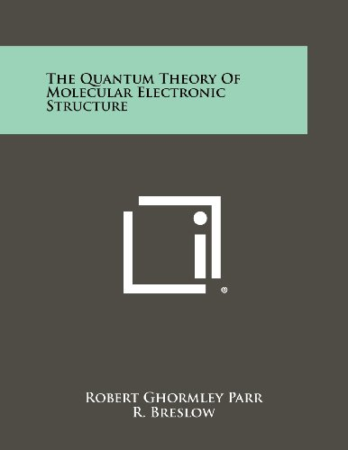 The Quantum Theory Of Molecular Electronic Structure