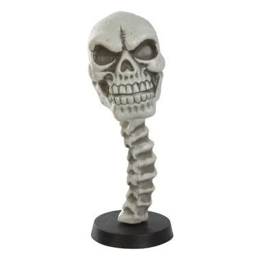 Skull Bobble Head, Great for Halloween or any occasion! 9.5 Inches TALL!