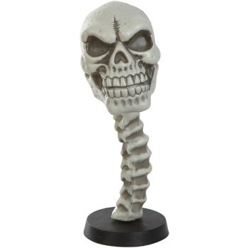 Skull Bobble Head, Great for Halloween or any occasion! 9.5 Inches TALL! - 1