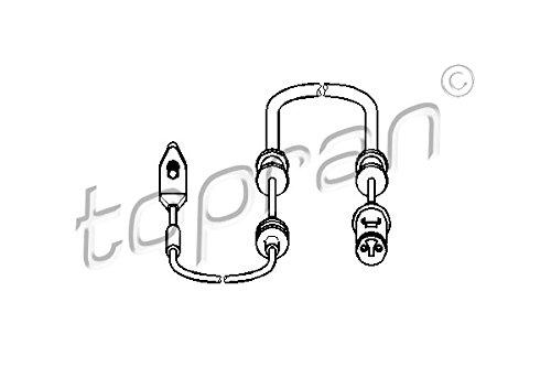TOPRAN Sensor für Bremsbelagverschleiß, 203 972