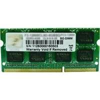 G.SKILL F3-1333C9S-8GSA 8GB PC3-10600 1333MHz DDR3 204-Pin SO-DIMM Laptop Memory