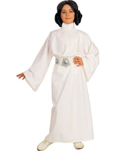 Princess Leia Kids Costume Sm 4-6 Kids Girls Costume