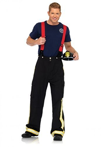 Fas Cosplay Adult Fire Captain Costume