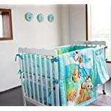 8 Pieces Crib Baby Bedding Set Finding Nemo Baby Nursery Cot Ropa De Cama Crib Bumper/quilt/fitted Sheet/dust Ruffle for Newborn